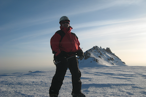 Picture of Mark on Mt. Lassen Summit
