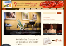 Lousiana Culinary Trails